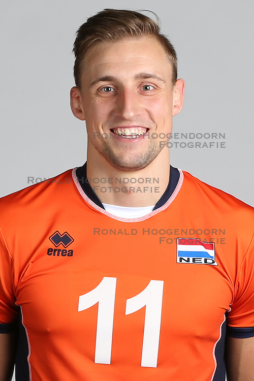 20160516 NED: Selectie Nederlands volleybal team mannen, Arnhem<br />Robin Overbeeke