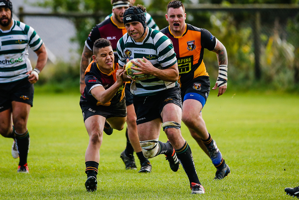 Swindale Shield rugby union  game played between Old Boys University  and Upper Hutt Rams, played at  Nairnville Park, Wellington, New Zealand on 7 April 2018.  OBU won 52-31.