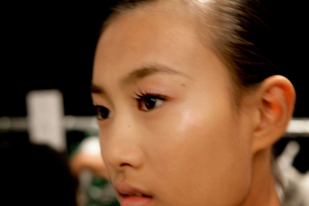 New Chinese Model, Qin Shupei with Next Model Management<br />