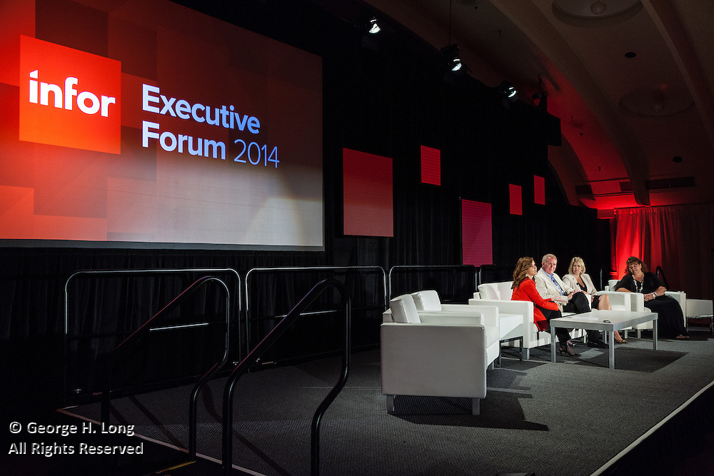 Infor Executive Forum 2014 at the Roosevelt Hotel in New Orleans