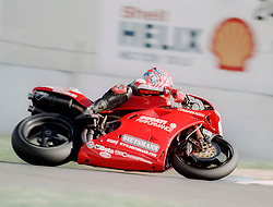CARL FOGARTY GB DUCATI, World Superbikes Round 2 Championship Donington Park 13th April 1998wsb  13/4/98