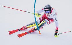 26.01.2020, Streif, Kitzbühel, AUT, FIS Weltcup Ski Alpin, Slalom, Herren, im Bild Manuel Feller (AUT) // Manuel Feller of Austria in action during his run in the men's Slalom of FIS Ski Alpine World Cup at the Streif in Kitzbühel, Austria on 2020/01/26. EXPA Pictures © 2020, PhotoCredit: EXPA/ JFK