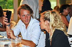 July 22, 2017 - France - Lucas Pouille et sa compagne Clemence (Credit Image: © Panoramic via ZUMA Press)