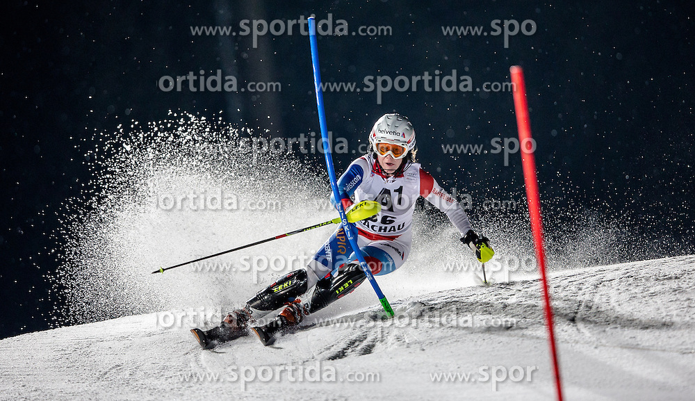 14.01.2014, Hermann Maier Weltcupstrecke, Flachau, AUT, FIS Weltcup Ski Alpin, Slalom, Damen, 1. Durchgang, im Bild Rahel Kopp (SUI) // Rahel Kopp of Switzerland  in action during 1st run of the ladies Slalom of the FIS Ski Alpine World Cup at the Hermann Maier World Cup course in Flachau, Austria on 2014/01/14. EXPA Pictures © 2013, PhotoCredit: EXPA/ Johann Groder