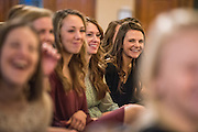 The School of Nursing and Human Physiology honors fall nursing graduates. (Gonzaga University photo)