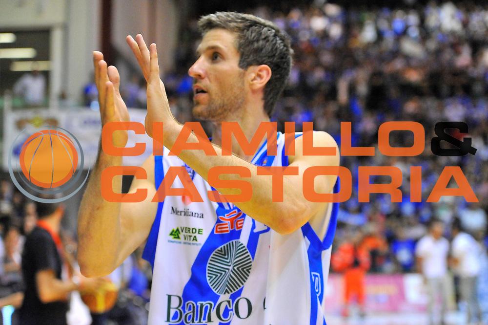 DESCRIZIONE : Campionato 2013/14 Quarti di Finale GARA 2 Dinamo Banco di Sardegna Sassari - Enel Brindisi<br /> GIOCATORE : Drake Diener<br /> CATEGORIA : Esultanza<br /> SQUADRA : Dinamo Banco di Sardegna Sassari<br /> EVENTO : LegaBasket Serie A Beko Playoff 2013/2014<br /> GARA : Dinamo Banco di Sardegna Sassari - Enel Brindisi<br /> DATA : 21/05/2014<br /> SPORT : Pallacanestro <br /> AUTORE : Agenzia Ciamillo-Castoria / Luigi Canu<br /> Galleria : LegaBasket Serie A Beko Playoff 2013/2014<br /> Fotonotizia : DESCRIZIONE : Campionato 2013/14 Quarti di Finale GARA 2 Dinamo Banco di Sardegna Sassari - Enel Brindisi<br /> Predefinita :