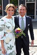 Dordrecht, 27-04-2015 <br /> <br /> King Willem-Alexander and Queen Maxima and their daughters Princess Amalia, Princess Alexia and Princess Ariane attended with other members of the Dutch Royal Family the festivities at the King Willem-Alexanders birthday, Kings Day.<br /> <br /> Photo:Royalportraits Europe/Bernard Ruebsamen