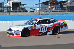 November 10, 2018 - Phoenix, Arizona, U.S. - PHOENIX, AZ - NOVEMBER 10:  Xfinity Series Cup finalist Cole Custer (00) Haas Automation Ford heads down pit lane after completing qualifying session at the NASCAR Xfinity Series Playoff Race - Whelen 200  on November 10, 2018 at ISM Raceway in Phoenix, AZ.  (Photo by Lyle Setter/Icon Sportswire) (Credit Image: © Lyle Setter/Icon SMI via ZUMA Press)