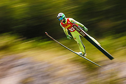 Spela Rogelj during national competition in Ski Jumping, 8th of October, 2016, Kranj,  Slovenia. Photo by Grega Valancic / Sportida