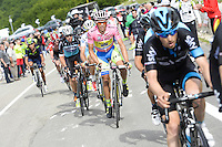 Alberto Contador - Tinkoff Saxo - 16.05.2015 - Tour d'Italie - Etape 08 : Fiuggi / Campitello Matese<br />
