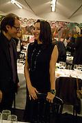 Cristina Iglesias, Reception, private view and dinner.; Juan Munoz- A Retrospective. Tate Modern. -DO NOT ARCHIVE-© Copyright Photograph by Dafydd Jones. 248 Clapham Rd. London SW9 0PZ. Tel 0207 820 0771. www.dafjones.com.
