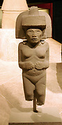 Stone sculpture of Huaxtec female deity.900-1400 AD, Mexico. Pre-Columbian Mesoamerican Mythology