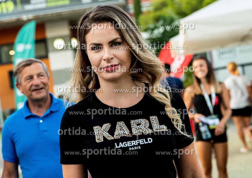 Karl Erjavec and his daughter Eva Erjavec at Day 9 of ATP Challenger Zavarovalnica Sava Slovenia Open 2019, on August 17, 2019 in Sports centre, Portoroz/Portorose, Slovenia. Photo by Vid Ponikvar / Sportida