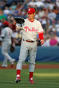 Phillies pitcher Jamie Moyer during the game between the Atlanta Braves and the Philadelphia Phillies at Turner Field in Atlanta, GA on May 25, 2007..