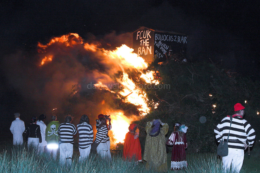 The Cliffe Bonfire, Lewes, Guy Fawkes Night