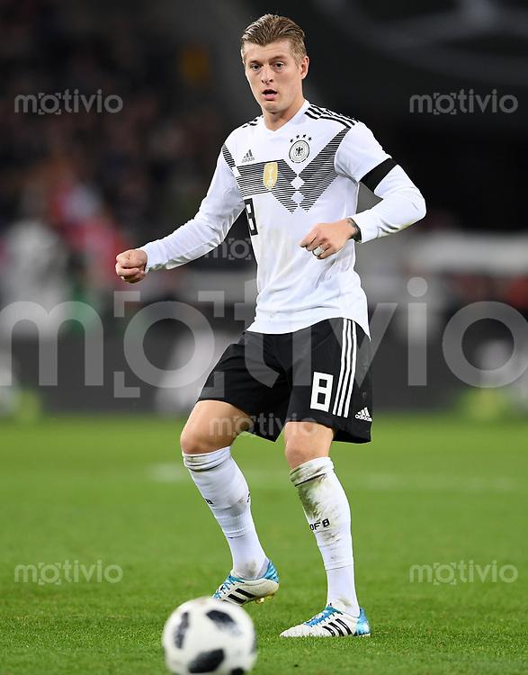FUSSBALL  INTERNATIONAL TESTSPIEL  IN KOELN   Deutschland - Frankreich        14.11.2017 Toni Kroos (Deutschland)