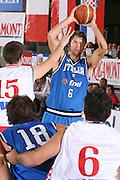 DESCRIZIONE : Bormio Torneo Internazionale Gianatti Finale Italia Croazia <br /> GIOCATORE : Giacomo Galanda <br /> SQUADRA : Nazionale Italia Uomini <br /> EVENTO : Bormio Torneo Internazionale Gianatti <br /> GARA : Italia Croazia <br /> DATA : 04/08/2007 <br /> CATEGORIA : Passaggio <br /> SPORT : Pallacanestro <br /> AUTORE : Agenzia Ciamillo-Castoria/S.Silvestri Galleria : Fip Nazionali 2007 <br /> Fotonotizia : Bormio Torneo Internazionale Gianatti Finale Italia Croazia<br /> Predefinita :