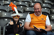 Fans arriving before the Sky Bet Championship match at the KCOM Stadium, Hull<br /> Picture by Paul Chesterton/Focus Images Ltd +44 7904 640267<br /> 25/08/2017