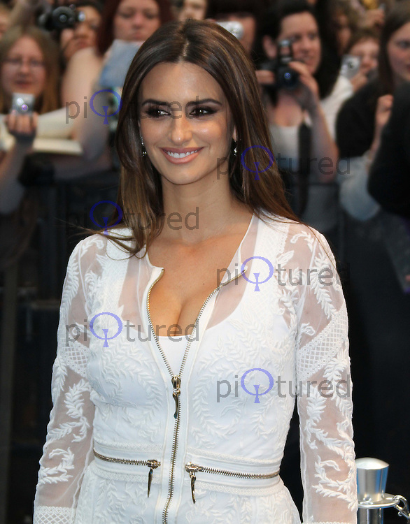 Penelope Cruz Pirates Of The Caribbean: On Stranger Tides - UK Premiere, Westfield Shopping Centre, London, UK, 12 May 2011:  Contact: Rich@Piqtured.com +44(0)7941 079620 (Picture by Richard Goldschmidt)