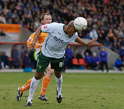 Blackpool, England - Saturday, January 27, 2007: Norwich City's Dion Dublin during the FA Cup 5th Round match at Bloomfield Road. (Pic by David Rawcliffe/Propaganda)