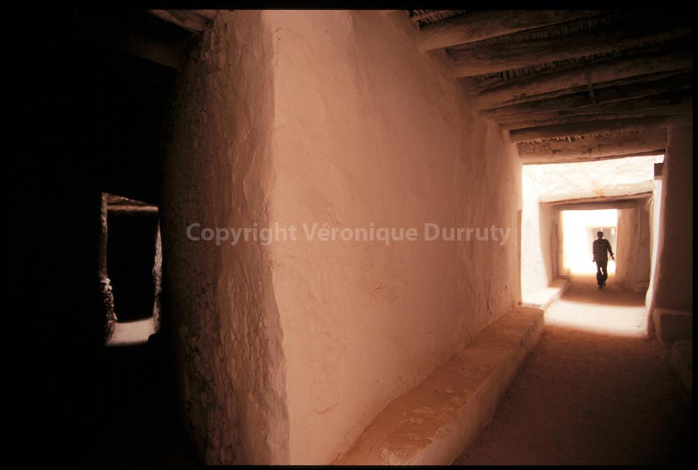 La vieille ville de Ghadames est inscrite au patrimoine mondial de l'humanité UNESCO.The old town of Gadamez, Lybia.