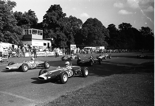 Motor Racing in Phoenix Park. Motor racing first took place in the Phoenix Park in 1903 when the Irish Gordon Bennett Race Speed Trials were held on the main straight for both cars and Motorcycles. Over the years seven different circuits have been used, two of which are named after the famous Ferrari & World Champion racing driver Mike Hawthorn..14.09.1969 <br /> PHOENIX PARK 69  D326-2152   Brian Muir Lotus 62