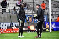 Johny PLACIDE / Sebastien HAMEL  - 13.12.2014 - Reims / Evian Thonon  - 18eme journee de Ligue1<br />Photo : Fred Porcu / Icon Sport