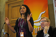 Labour Party Annual Conference<br /> Brighton<br /> 27-30 September<br /> Fringe meeting 'Real Britain'.<br /> Organised by Unite the Union and the Daily Mirror.<br /> Poppy Noor, welfare campaigner.