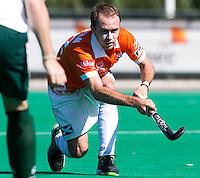 ROTTERDAM - Australier Matthew Swann van Bloemendaal tijdens de ABN AMRO CUP 2012. Rotterdam wint de finale. COPYRIGHT KOEN SUYK