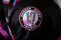 KELOWNA, BC - SEPTEMBER 21:  WHL Cancer night celebrates 10 years at Prospera Place on September 21, 2019 in Kelowna, Canada. (Photo by Marissa Baecker/Shoot the Breeze)