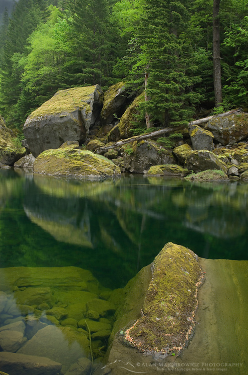 Skagit River Gorge, Ross Lake National Recreation Area, North Cascades Washington