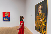 Rene Barotte, 1970, and Someone from the past, 1980 - Princess Fahrelnissa Zeid: the UK's first retrospective of a pioneering artist best known for her large-scale colourful canvases, fusing European approaches to abstract art with Byzantine, Islamic and Persian influences. The exhibition is at Tate Modern from 13 June – 8 October 2017.