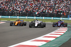 October 28, 2018 - Mexico-City, Mexico - Motorsports: FIA Formula One World Championship 2018, Grand Prix of Mexico, ..#2 Stoffel Vandoorne (BEL, McLaren F1 Team), #35 Sergey Sirotkin (RUS, Williams Martini Racing), #10 Pierre Gasly (FRA, Red Bull Toro Rosso Honda) (Credit Image: © Hoch Zwei via ZUMA Wire)