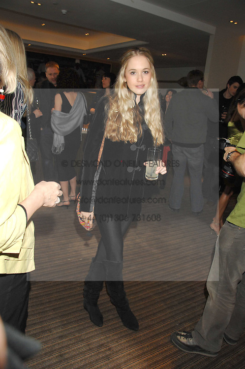 FLORENCE BRUDENELL-BRUCE at a party to celebrate the publication of Lisa B's book 'Lifestyle Essentials' held at the Cook Book Cafe, Intercontinental Hotel, Park Lane London on 10th April 2008.<br /><br />NON EXCLUSIVE - WORLD RIGHTS