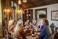 Alma Rosa Winery & Vineyards Ranch House, in Buellton, California.