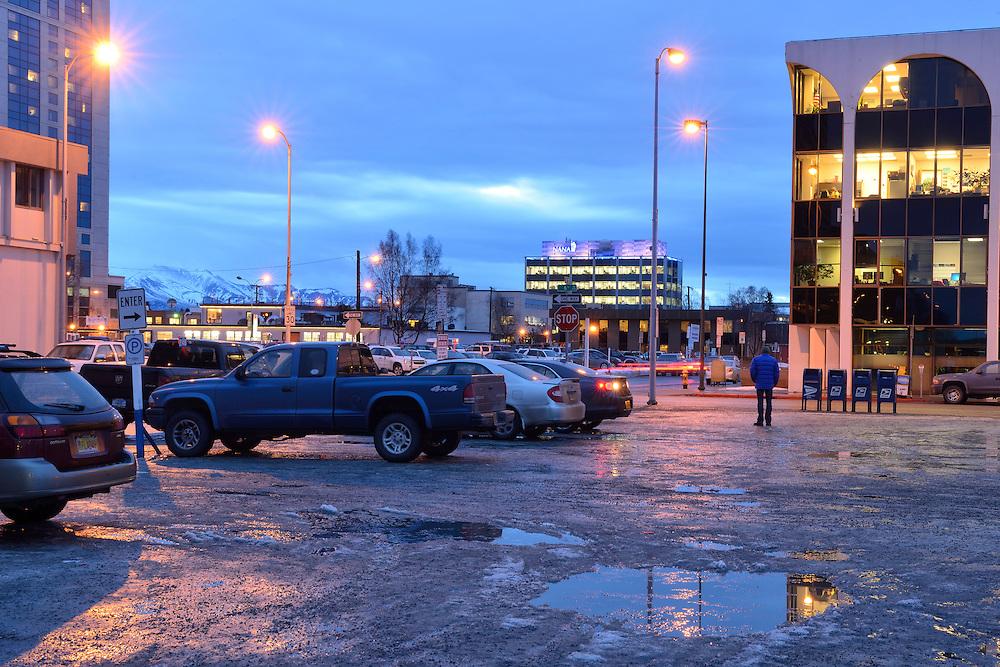 American Nightscapes / Anchorage<br /> <br /> Anchorage,Alaska,USA
