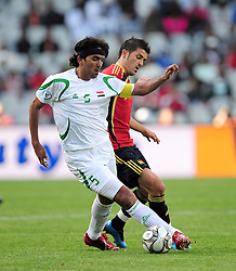 Nashat Akram  during the soccer match of the 2009 Confederations Cup between Spain and Iraq played at Vodacom Park,Bloemfontein,South Africa on 17 June 2009.  Photo: Gerhard Steenkamp/Superimage Media.