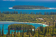 Overlook over the Ile des Pins, New Caledonia, Melanesia, South Pacific