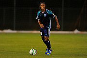 VSI Tampa Bay FC midfielder Sebastien Thuriere (13) in action against Antigua Barracuda in a USL Pro soccer match at Plant City stadium in Plant City, Florida on June 7, 2013. VSI won 8-0.<br /> <br /> ©2013 Scott A. Miller