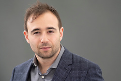 """Edinburgh, Scotland, UK; 17 August, 2018. Pictured; Yascha Mounk. His book """" The People vs Democracy"""" analyses whether and how , democracy can be saved."""