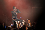 Photos of Cradle of Filth performing on the Creatures of the Black Abyss Tour at Best Buy Theater, NYC. March 3, 2011. Copyright © 2011 Matthew Eisman. All Rights Reserved.
