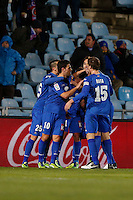 19.01.2013 SPAIN -  La Liga 12/13 Matchday 20th  match played between Getafe C.F. vs Sevilla Futbol Club (1-1) at Alfonso Perez stadium. The picture show