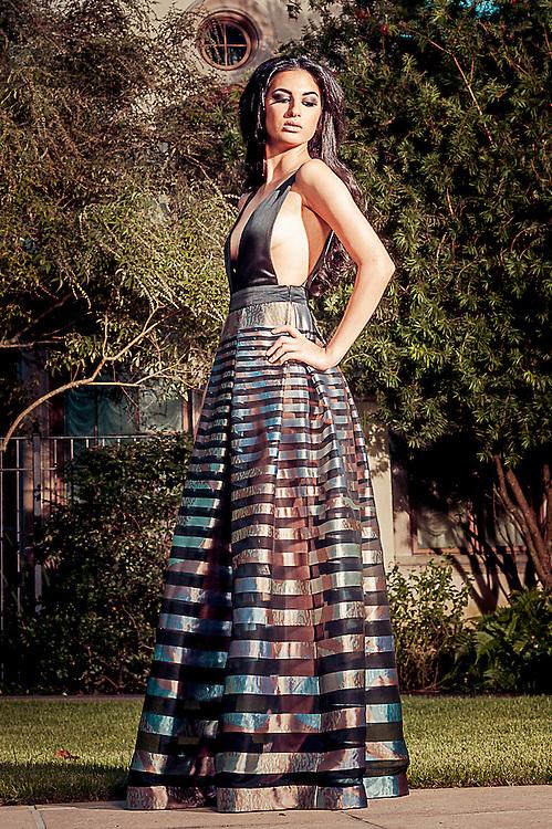 Fashion Designer Pedram Pasha Tasheri. ©2013, Gustavo Escanelle, All Rights Reserved.