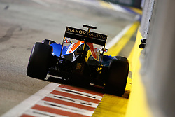 September 18, 2016 - Singapur, Singapur - Motorsports: FIA Formula One World Championship 2016, Grand Prix of Singapore, .#94 Pascal Wehrlein (GER, Manor Racing F1 Team) (Credit Image: © Hoch Zwei via ZUMA Wire)