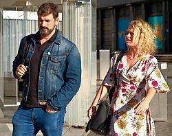 Edinburgh International Film Festival, Saturday, 24 June 2018<br /> <br /> LUCID (WORLD PREMIERE)<br /> <br /> Pictured:  Cristian Solimeno and Katy Goldfinch were out enjoying Edinburgh in the sunshine today<br /> <br /> (c) Alex Todd   Edinburgh Elite media