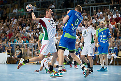 Schuch Istvan Timuzsin of Hungary during handball game between Man National Teams of Slovenia and Hungary in 2019 Man's World Championship Qualification, on June 9, 2018 in Arena Bonifika, Ljubljana, Slovenia. Photo by Urban Urbanc / Sportida