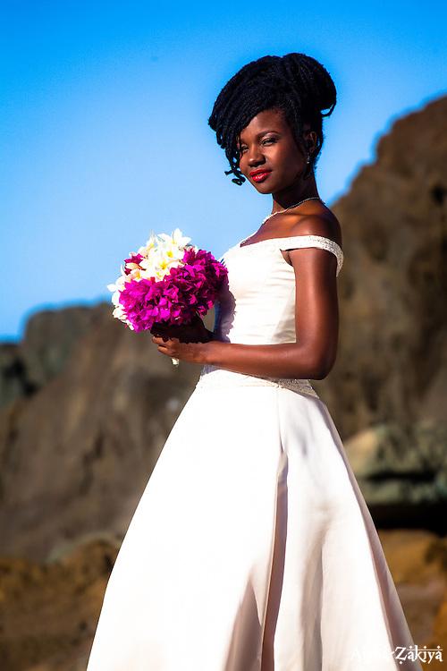 &copy; Aisha-Zakiya Boyd Teisha for WeddingsVI.net.  <br /> Photographer:  Aisha-Zakiya <br /> Model:  Teisha Coleman<br /> MakeUp:  CseCseArtistry<br /> Styling: Chinwe Osaze