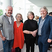 13.05.2016.           <br /> Des Farrell, LSAD, Elaine McCarthy, Monica and Mike Fitzpatrick, Limerick 2020 Pictured at the much anticipated Limerick School of Art & Design, LIT, (LSAD) Graduate Fashion Show on Thursday 12th May 2016. The show took place at the LSAD Gallery where 27 graduates from the largest fashion degree programme in Ireland showcased their creations. Ranked among the world's top 50 fashion colleges, Limerick School of Art and Design is continuing to mold future Irish designers.. Picture: Alan Place/Fusionshooters