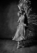 Jessica Tso, Diné, fancy shawl dancer from Crownpoint, N.M.