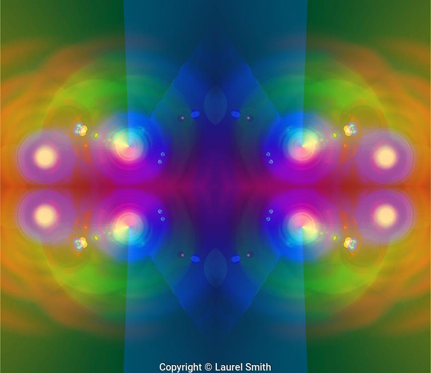 """Light Portal"" A Stargate. © Laurel Smith"